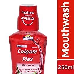 Colgate Plax Spicy Fresh Mouthwash – 250 ml