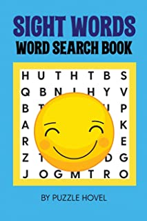 Sight Words Word Search Book: Large Print Puzzles with High Frequency Words for Kids Learning to Read (Sight Words Word Search Puzzle Books)