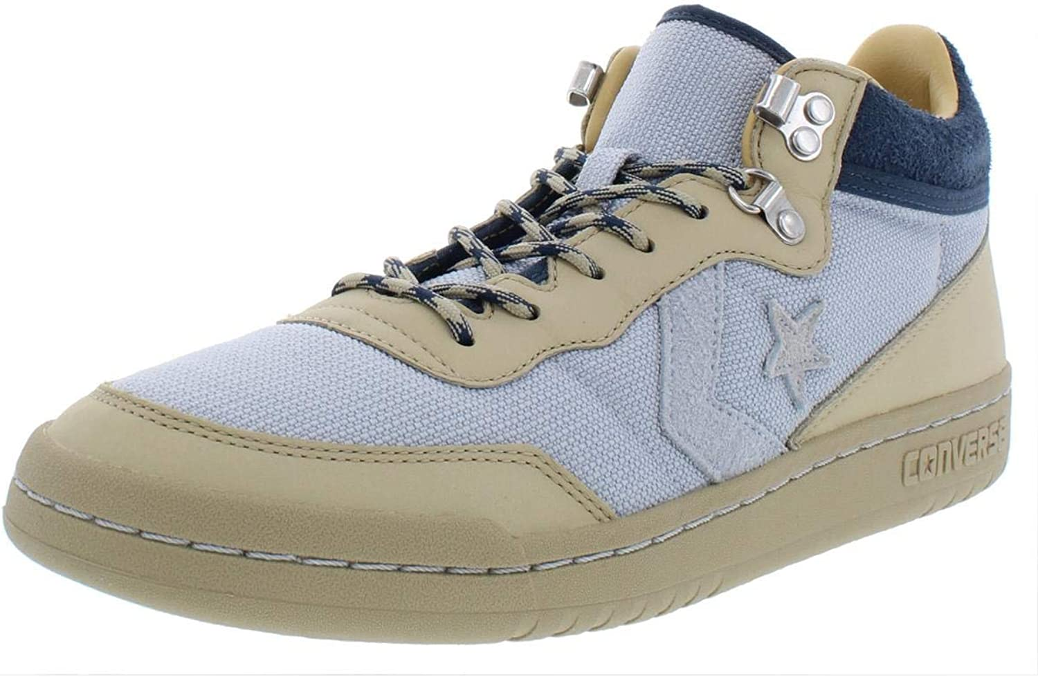 Converse Mens Fastbreak Mid Leather Lifestyle Fashion Sneakers