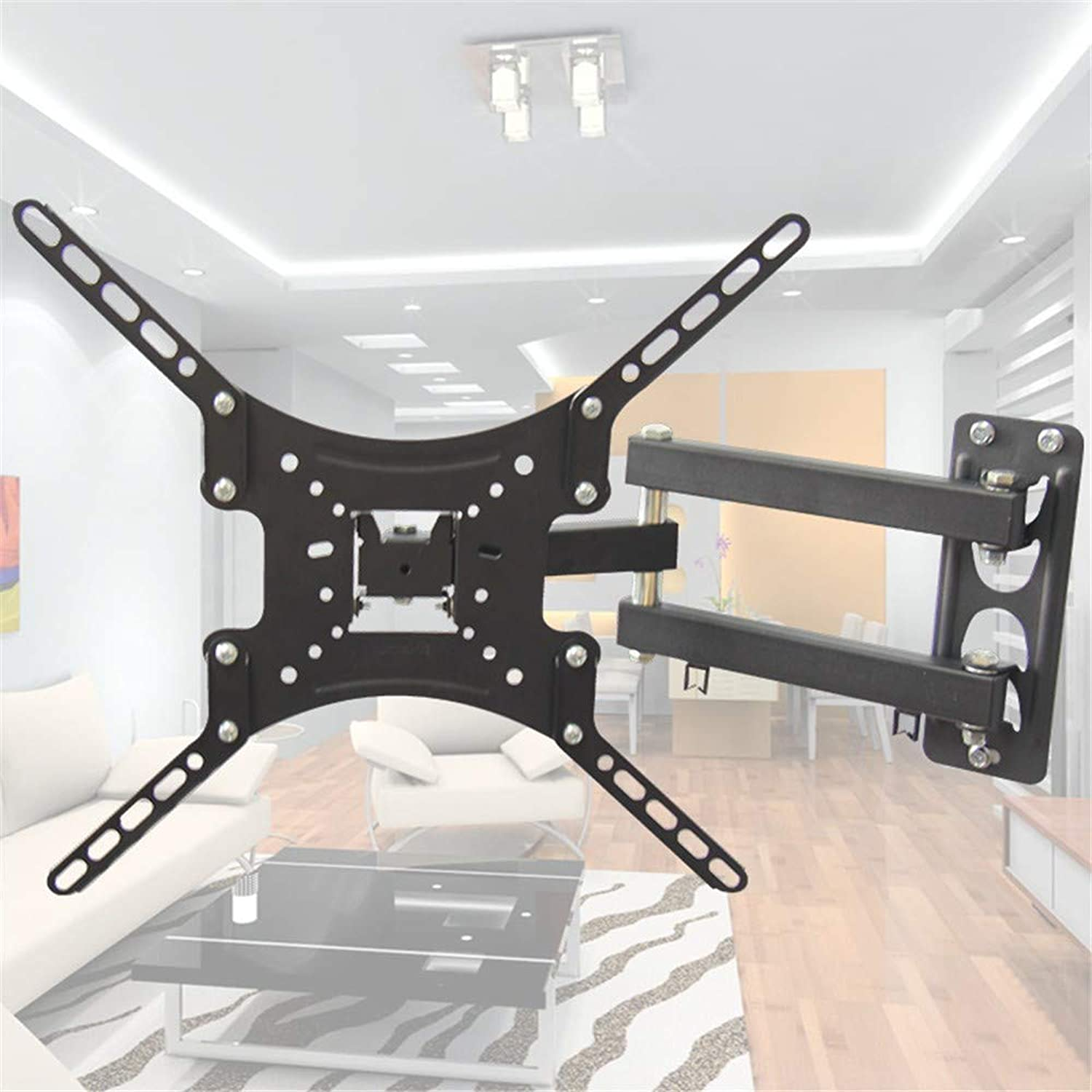 Universal Multi-Function TV Rack Multi-Directional Telescopic redating LCD TV Monitor Wall Mount Bracket Suitable for 10 -55