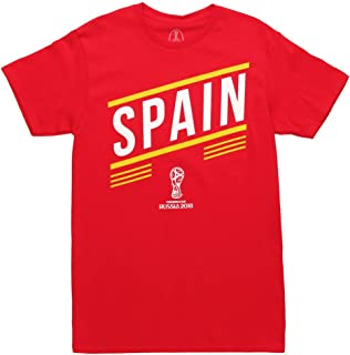 World Cup 2018 Spain Stripes Adult T-Shirt