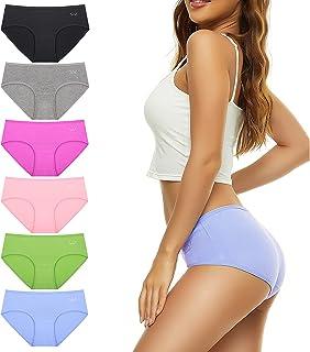 Women's Underwear Cotton Hipster Panties for Ladies...