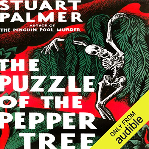 The Puzzle of the Pepper Tree audiobook cover art