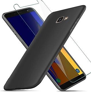 f2eae7ac617 AROYI Funda Samsung Galaxy J4 Plus + Protector de Pantalla, Carcasa Samsung  Galaxy J4 Plus