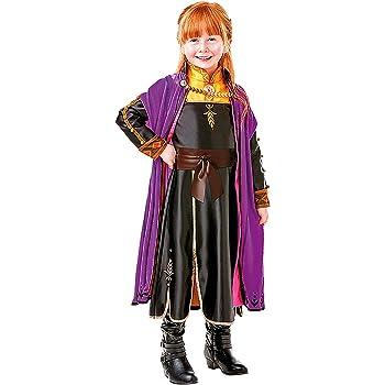 Frozen 2 Premium Disfraz Anna Travel, M, Multicolor, (RubieS ...