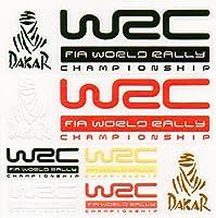 WRC PVC カー ステッカー