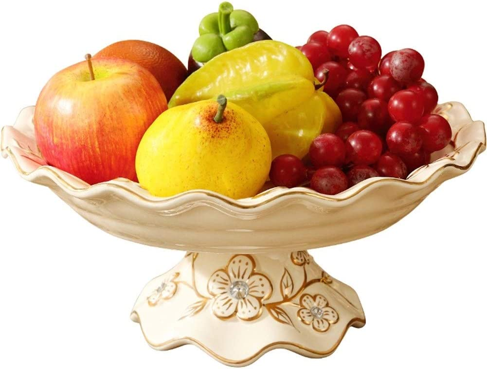 WD European High Cheap super special price Fruit Ceramic Limited Special Price Household Dried Plate