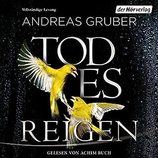 Todesreigen     Sneijder & Nemez 4              Autor:                                                                                                                                 Andreas Gruber                               Sprecher:                                                                                                                                 Achim Buch                      Spieldauer: 15 Std. und 4 Min.     10.021 Bewertungen     Gesamt 4,8