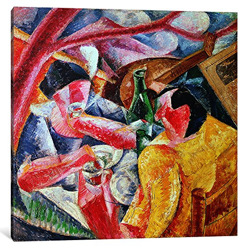iCanvasART 1 Piece Under The Pergola at Naples, 1914 Canvas Print by Umberto Boccioni, 0.75 by 18 by 18-Inch