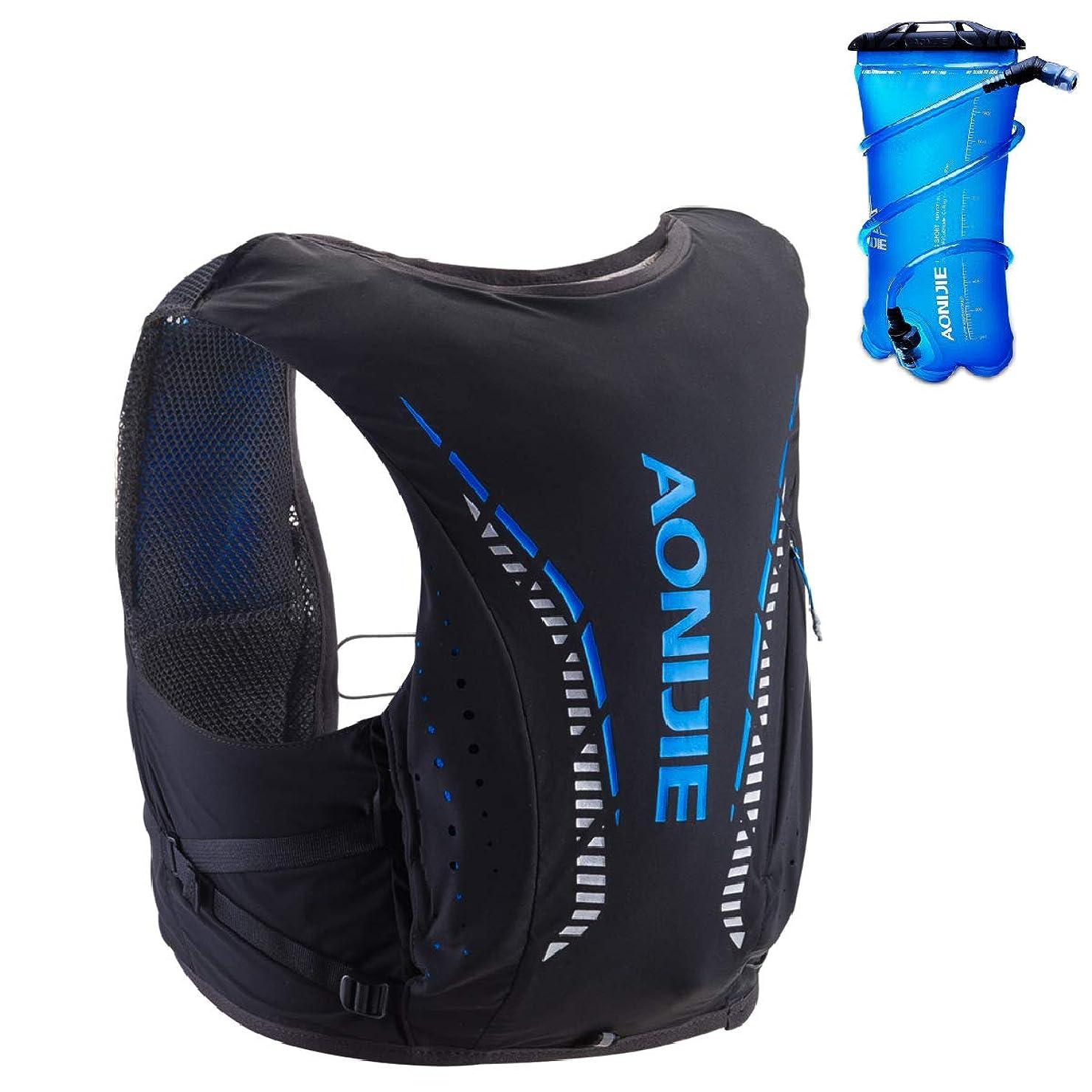 草誠意見物人TRIWONDER 10L トレラン ザック ランニング リュック トレイルランニング バッグ ハイドレーションパック マラソン ベスト バックパック