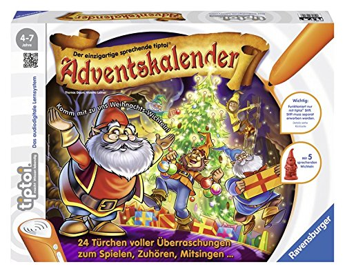 tiptoi® Adventskalender Weihnachten im Wichtelwald: 24 Türchen voller Überraschungen zum Spielen, Zuhören und Mitsingen