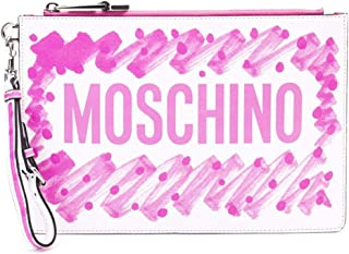 Moschino Women's 843480012209 Multicolor Leather Clutch