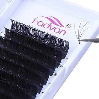 Mega Volume Lash Extensions 0.05mm D Curl Easy Fan Russian Volume Eyelash Extensions 3D 4D 5D 6D Rapid Blooming Lashes 8-14mm Mixed Tray 8D 10D Flowering Lash Extensions by FADVAN