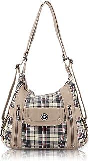 Angel Kiss Tasche Damen Handtasche Umhängetaschen Schultertasche Ultra Soft Washed Lederhandtasche Elegante Damenhandtasch...
