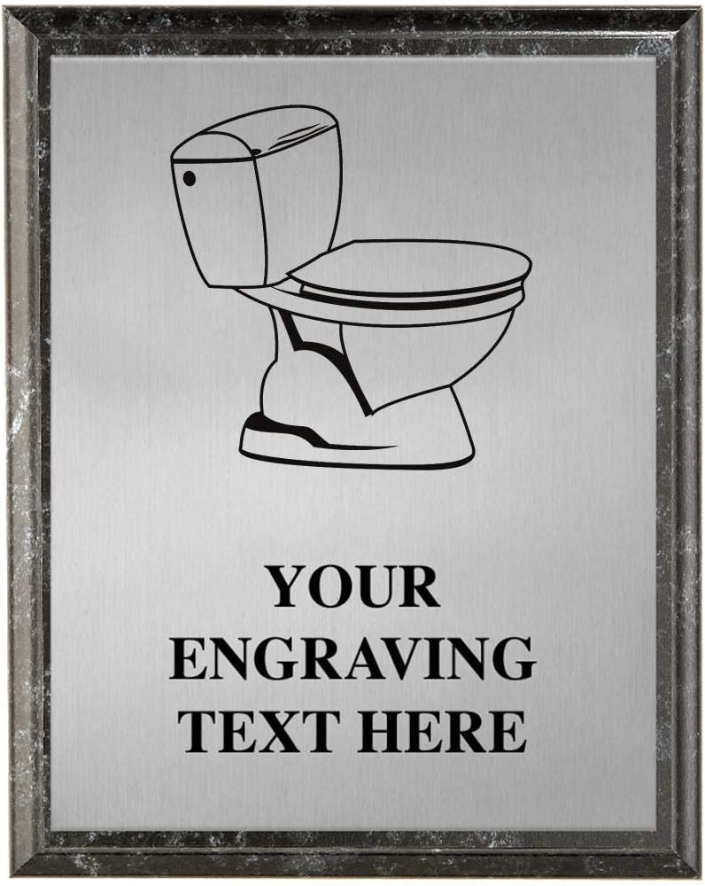 Crown Awards Last San Antonio Mall Place Award Toilet New product type Personalized Bowl Plaques