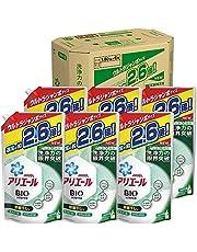 【ケース販売】アリエール バイオサイエンス 部屋干し 洗濯洗剤 液体 抗菌&菌のエサまで除去 詰め替え 大容量 約2.6倍(1800g)×6袋