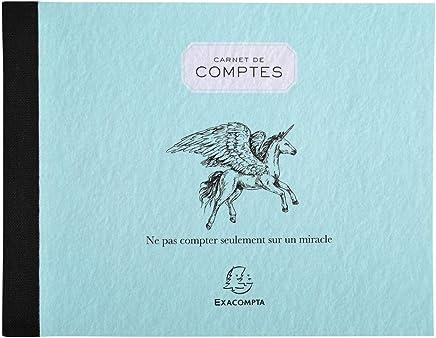 Exacompta 13504E Kontenbuch Pocket 40 Seiten
