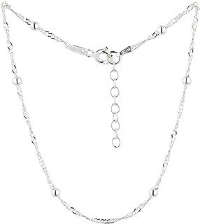 Cavigliera, 22-25cm, Argento Sterling 925, Modello 21