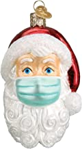 Old World Christmas Santa Face Covering