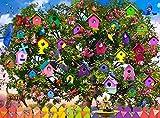 ZXCVASD Rompecabezas Rompecabezas para Adultos Rompecabezas para Adultos - Niños Adultos Rompecabezas para Adultos Juegos educativos para niños Adultos Regalos - Casa de pájaros-1000 Pieces