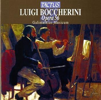 Boccherini: Quintetti per fortepiano, due violini, viola e violoncello