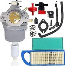 Woxla Carburetor Tune-up Kit with Air Filter for Briggs Stratton 594593 591731 593514 697141 697190 698445 699937 791858 791888 792358 31L777 Carb Intek 14.5-21HP Nikki 21B000 Engine