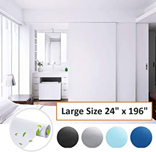 Wall Solid Matte Contact Paper Self Adhesive Wallpaper Sticker Decor 24/'/'x118/'/'