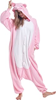 Women Men Adult Onesie Pajamas Halloween Animal Cosplay Costumes