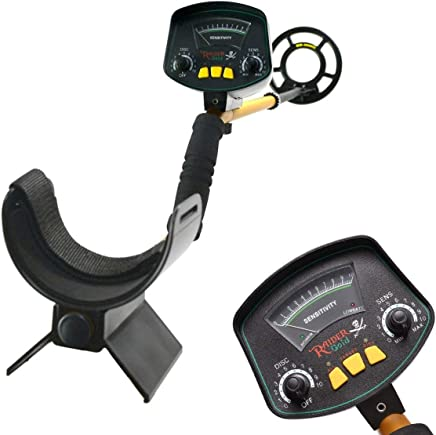 JunHo Lightweight Gold Digger Metal Detector,Professional Adjustable Gold Treasure Detectors,Waterproof High Accuracy