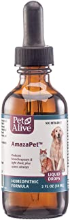 PetAlive AmazaPet Liquid - A Homeopathic Remedy for Easier Breathing, Improved Respiratory Function and Healthy Lungs