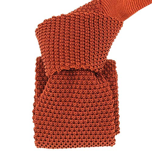Tony & Paul - Cravate Tricot Bruciato, Soie