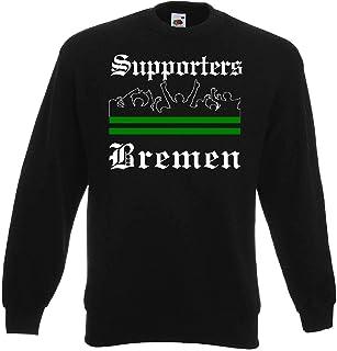 world-of-shirt / Bremen Herren Sweatshirt Supporters Ultras