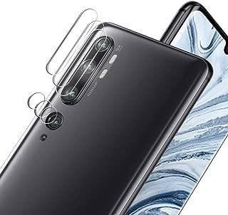 【3枚セット】Xiaomi Mi CC9 Pro/Mi Note 10 カメラフィルム ALLFUN Xiaomi Mi Note 10 / Note 10 Pro レンズ 保護フィルム 超薄型 高透過率 自動吸着 Mi CC9 Pro カメラガラスフイルム 防指紋 傷防止 耐衝撃