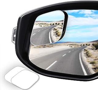 WildAuto Espejos de Punto Ciego Espejo Retrovisor Exterior Coche Espejo Retrovisor Apto Para Todo Tipo de Vehículos (2 Pcs-Retrovisores-Diamante)