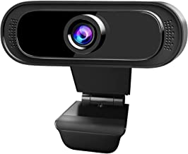 SONNLYH Webcam,1080P USB Computer Camera with Microphone HD Streaming Webcam for PC Desktop & Laptop,Plug and Play Video W...