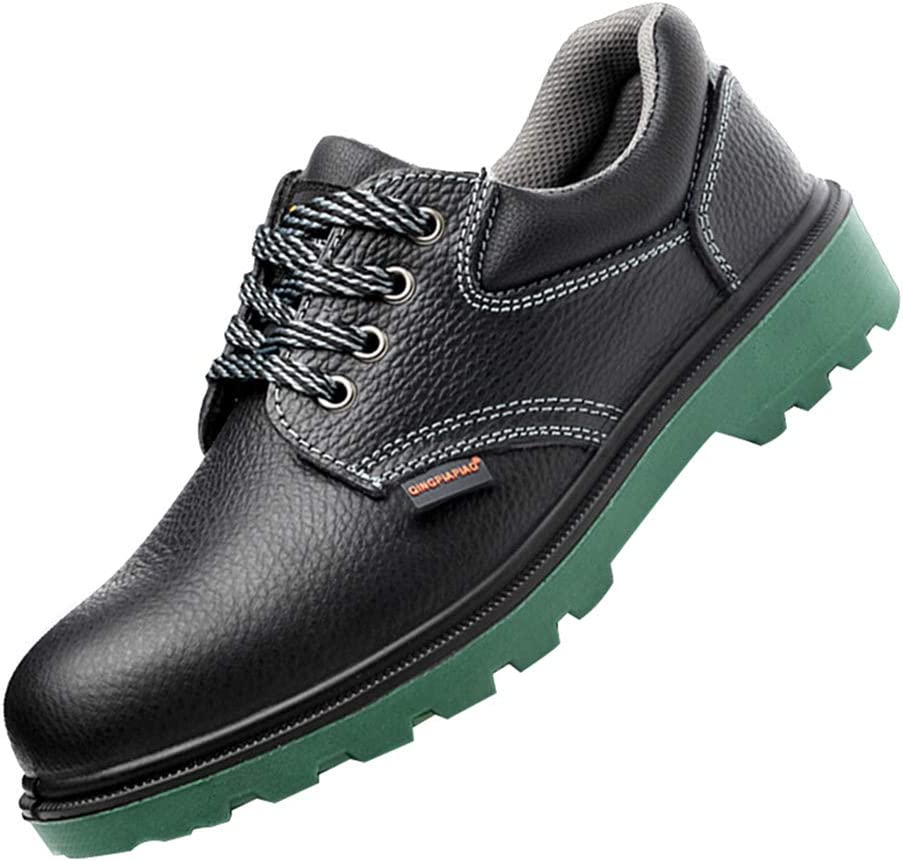 Men's and women's anti-smashing and anti-stab safety shoes, non-slip wear-resistant rubber-soled construction industrial shoes, comfortable and breathable work protective shoes,machinery manufacturi