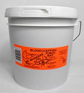 Mr. Whiskers Blood Catfish Punch Bait - Gallon