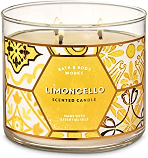 Bath & Body Works Limoncello 3-Wick Candle 14.5 oz / 411 g