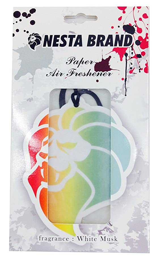 飼いならすフラグラント士気ネスタブランド エアーフレッシュナー 吊り下げ ホワイトムスクの香り OA-NNA-11-2