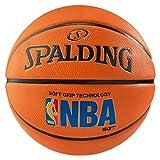Spalding NBA Logoman SGT Sz.7 (83-192Z) Balón de Baloncesto, Hombre, Naranja, 7
