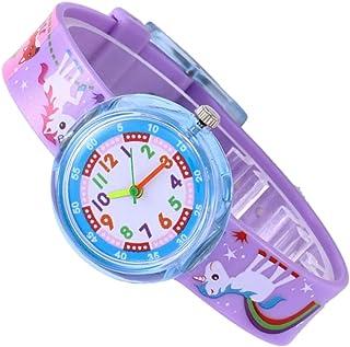 Perfeclan Kids Cute Casual Animal Electronic Watch Boys Girls Unisex Wristwatch Gift