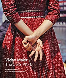 The book cover for the book Vivian Maier: The Color Work