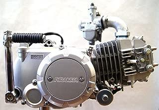 Piranha 140cc semi-auto, electric start, 4 spd engine.