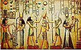 J-Love Kit Pintura Diamante 5D Hecho a Mano Bricolaje egipcios Antiguos Imagen Bordado Taladro Completo decoración del hogar Arte Pared