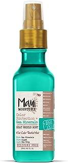 Maui Moisture Color Protection Sea Minerals Heat Shield Mist, 4.2 Ounce Bottle