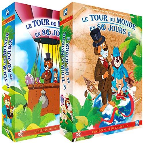 Le Tour du Monde en 80 Jours-Intégrale-2 Coffrets (10 DVD + Livret)