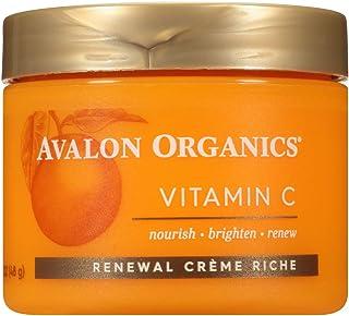 Avalon Organics Vitaminc Renewal Creme Riche, 1.7 Ounce