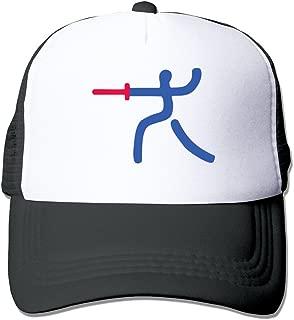 Unisex Fencing Player Adjustable Hats-Baseball Caps