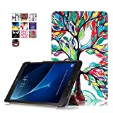 Skytar Samsung Galaxy Tab A 10.1 Coque,PU Cuir Smart Case Etui de Protection pour Samsung Galaxy Tab...