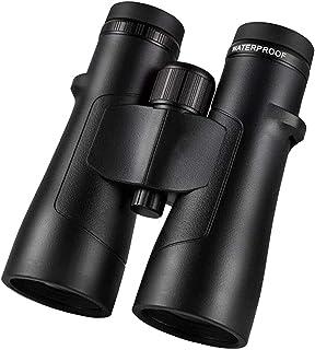 منظار مجهر 10X50 HD نيتروجين ماء مناظير يده باليد في الهواء الطلق أداة تخييم سوداء